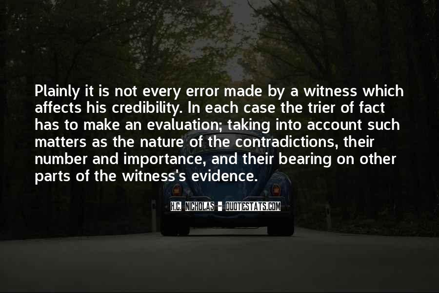 Quotes About Importance Of Evaluation #933671