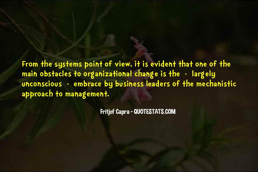 Quotes About Organizational Change #1268053