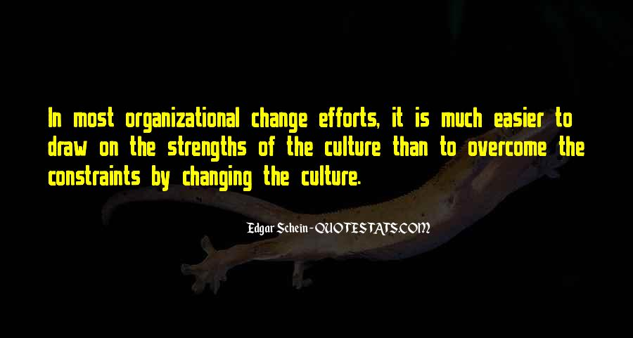 Quotes About Organizational Change #423209