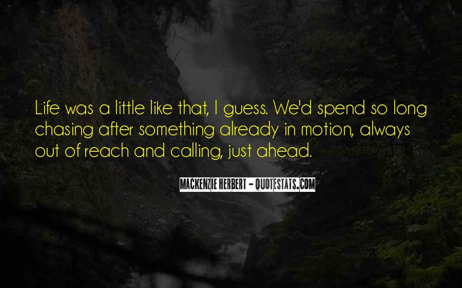 Quotes About Motion #45454