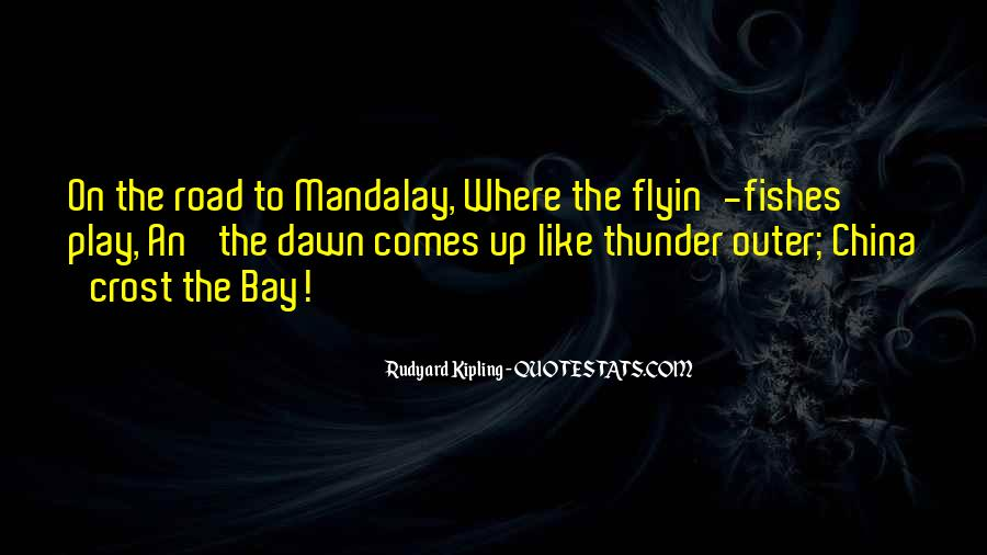 Quotes About Mandalay #37045