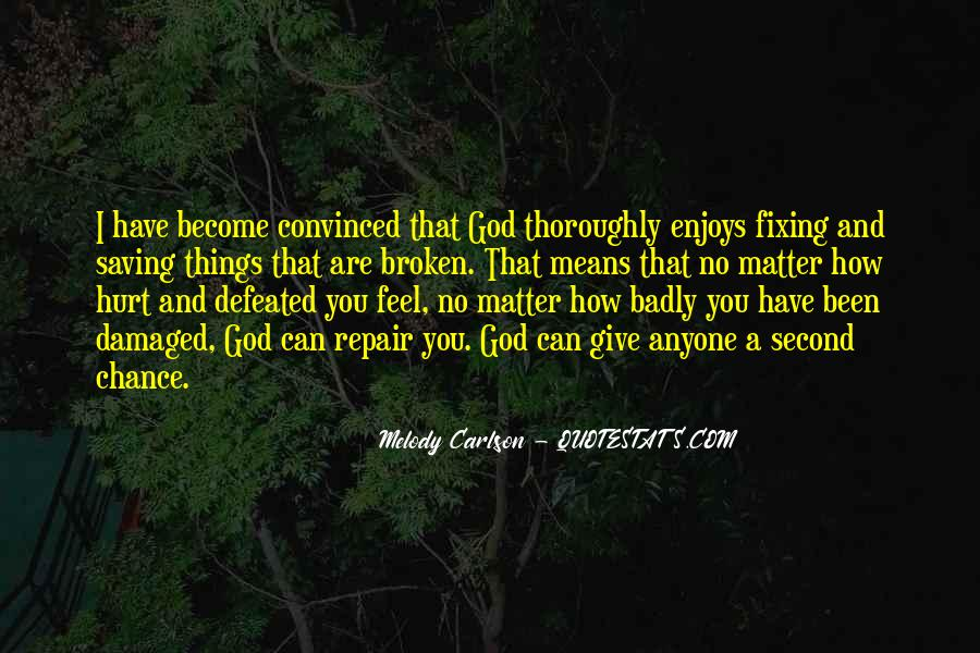 Quotes About Second Chances From God #1328044