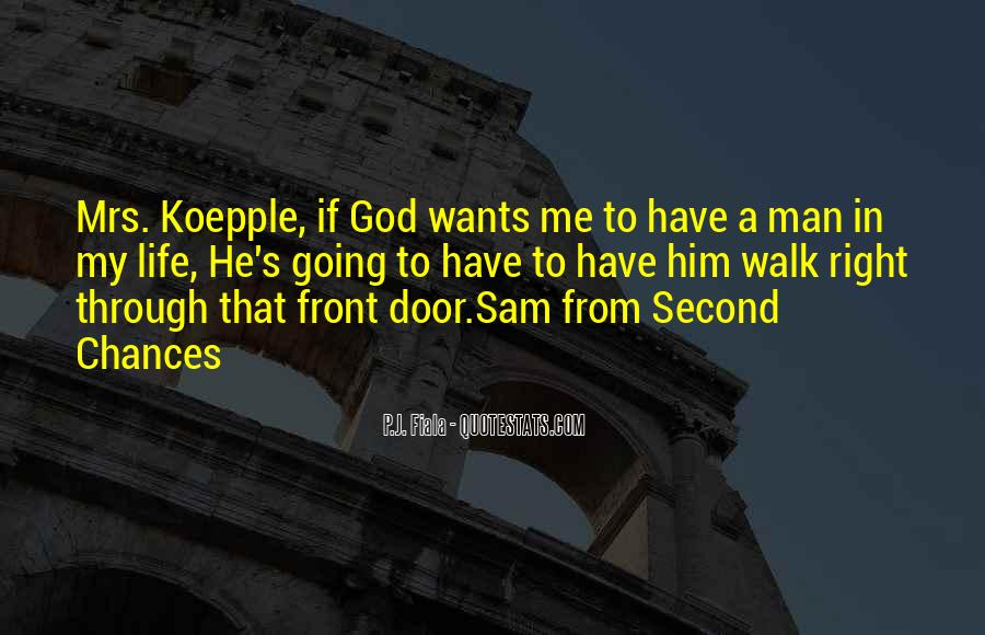 Quotes About Second Chances From God #1583796