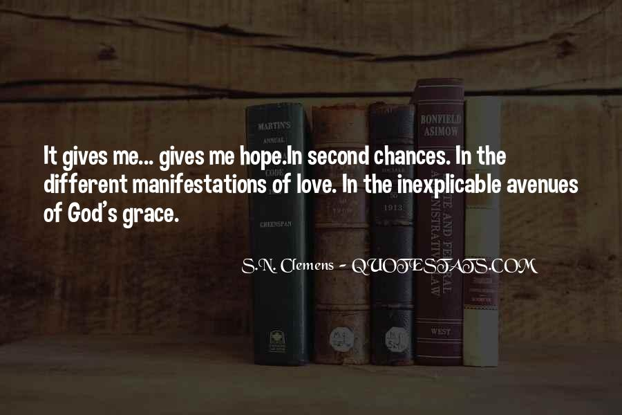 Quotes About Second Chances From God #1768853