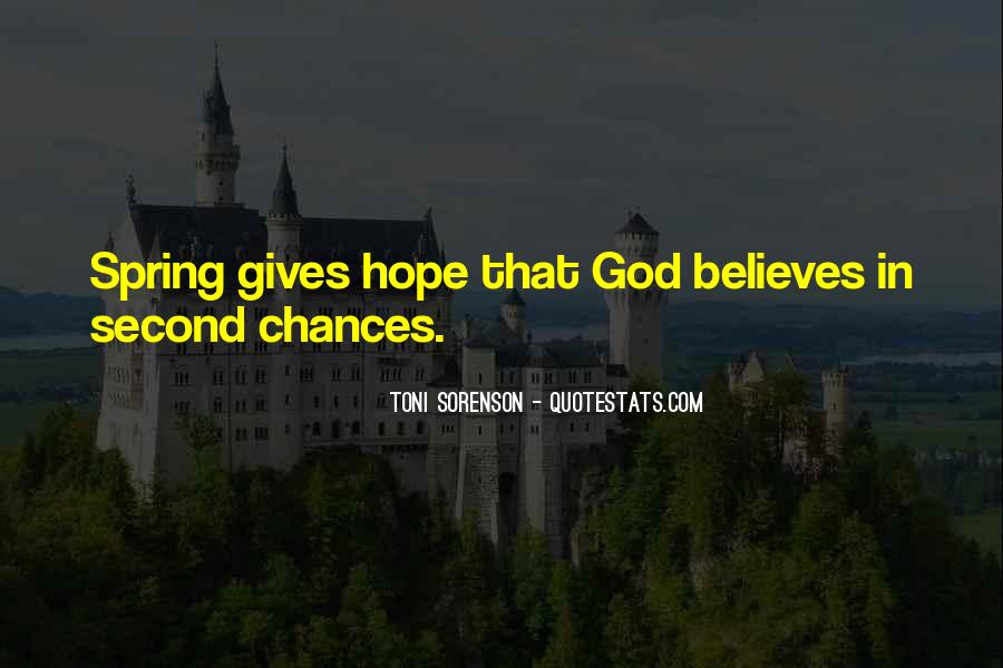 Quotes About Second Chances From God #900746