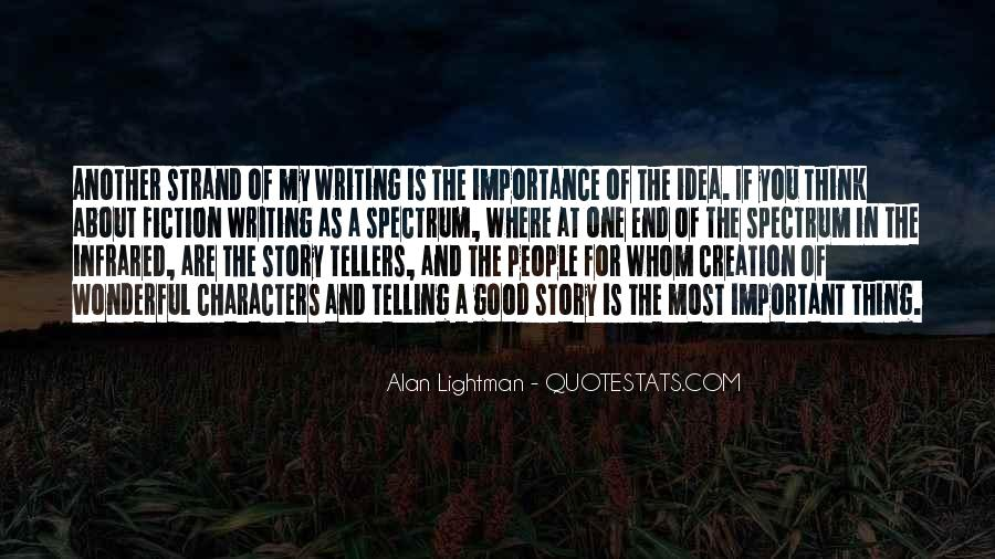 Quotes About The Importance Of Good Writing #593431