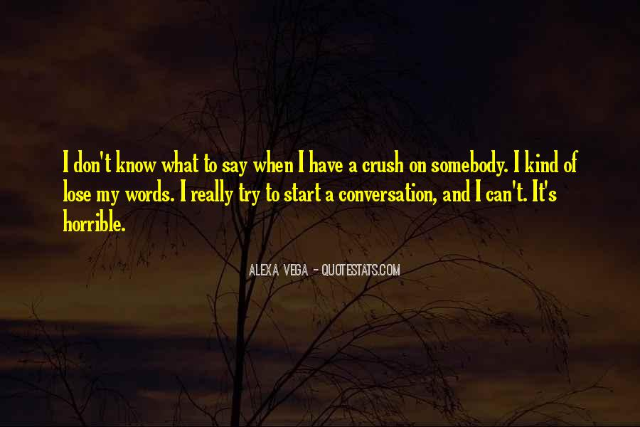 Quotes About Having A Crush On Someone You Don't Know #1365612