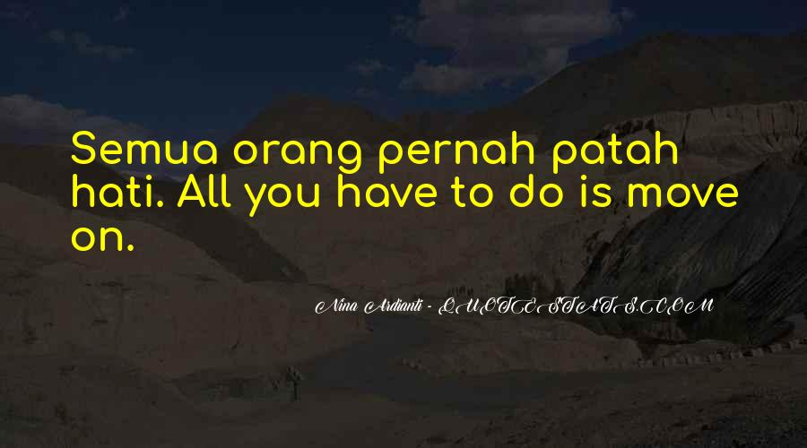 Quotes About Patah Hati #1828259