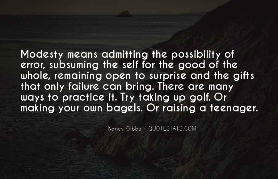 Quotes About Admitting Failure #1492065
