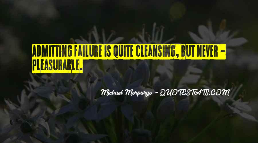 Quotes About Admitting Failure #381860