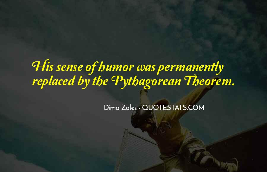 Quotes About Pythagorean Theorem #1126131