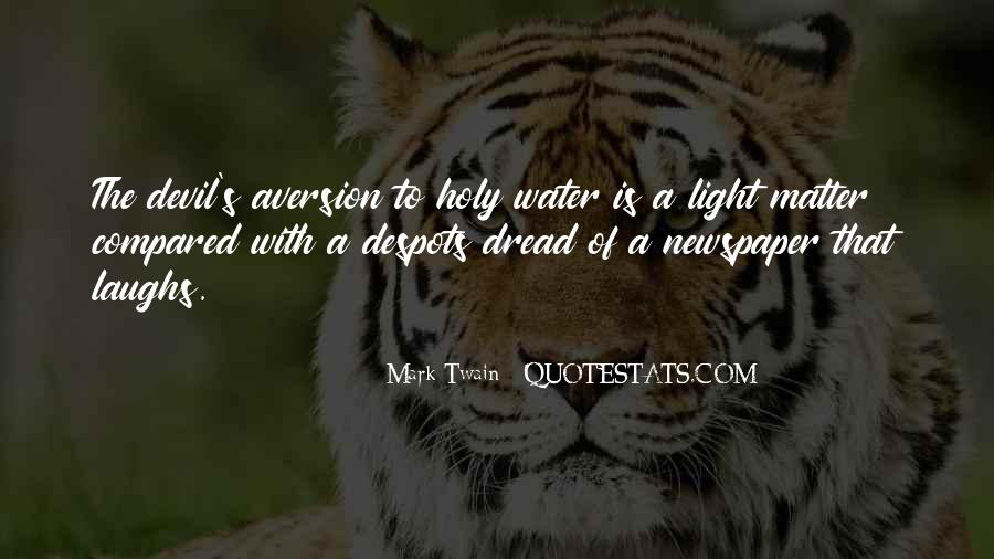 Quotes About Aversion #174951