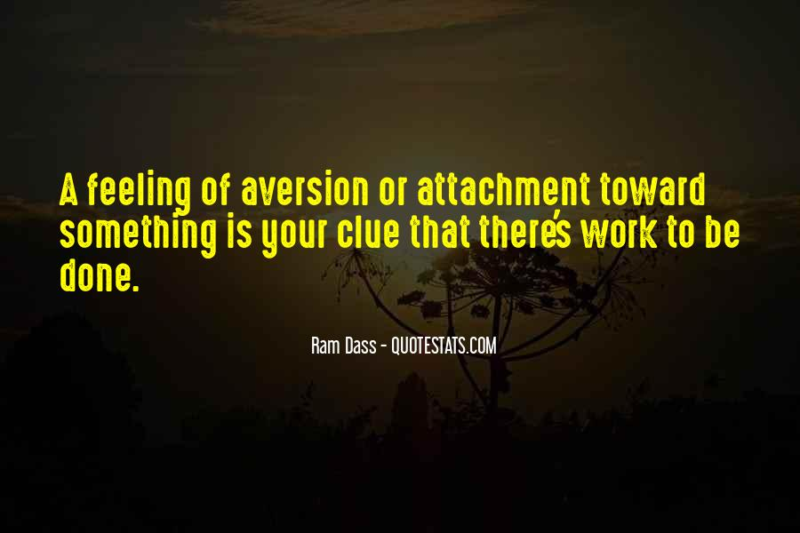 Quotes About Aversion #267662