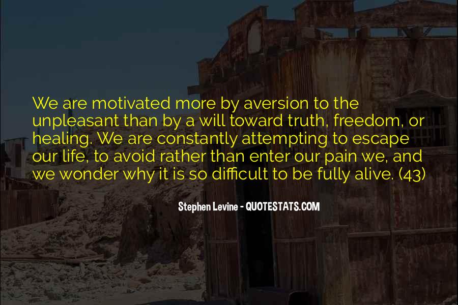 Quotes About Aversion #290326