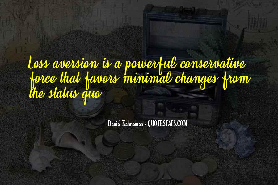 Quotes About Aversion #340632