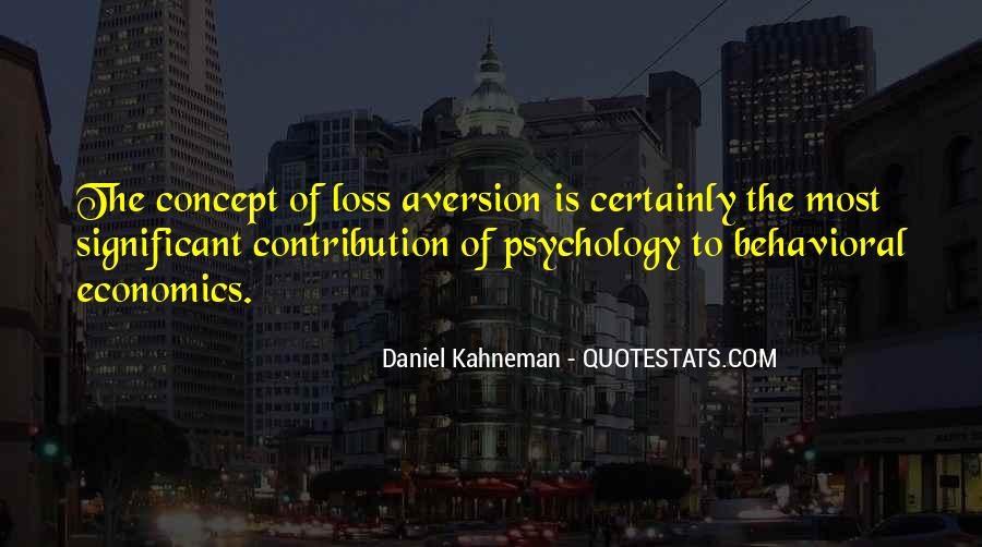 Quotes About Aversion #366240