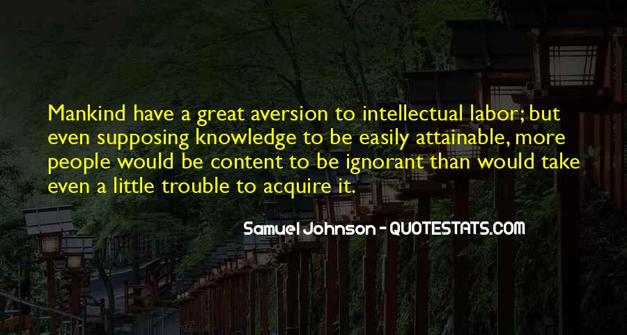 Quotes About Aversion #490194