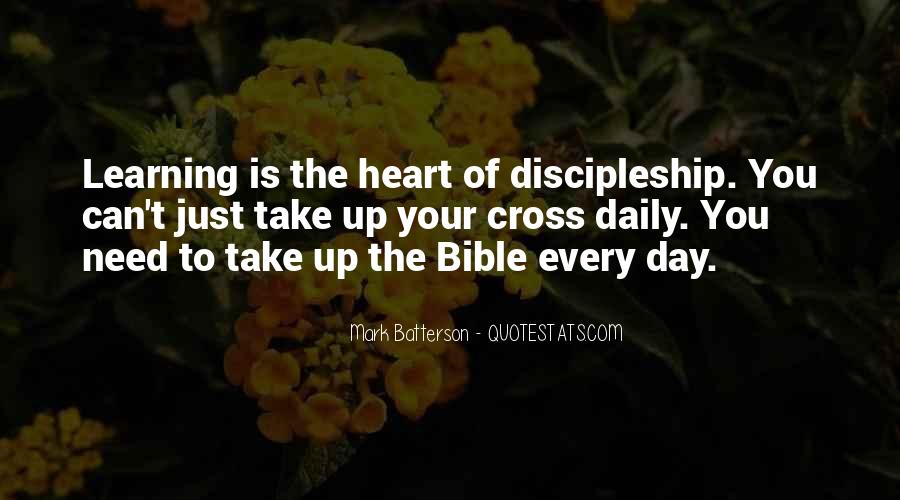Quotes About Learning The Bible #1285883