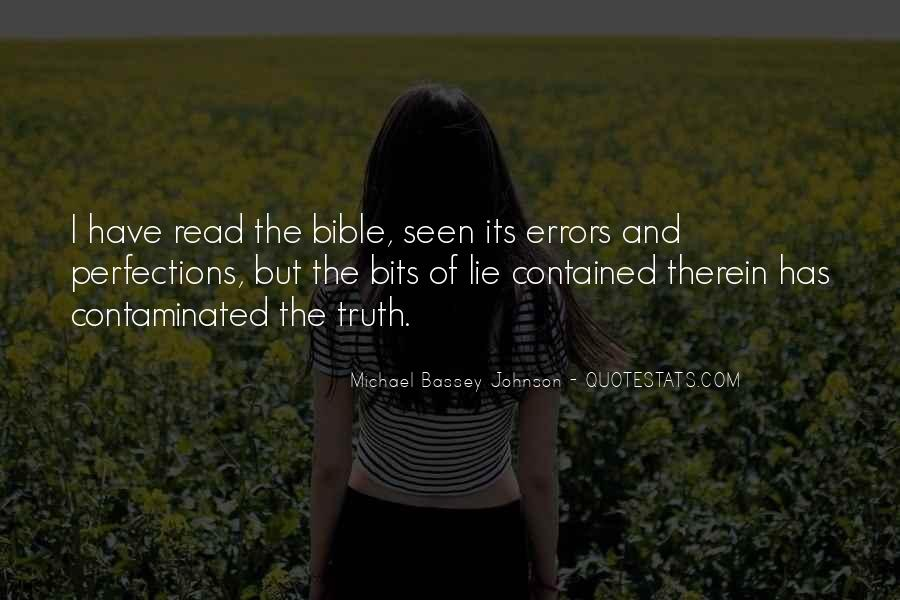 Quotes About Learning The Bible #1687523