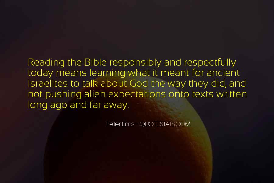 Quotes About Learning The Bible #1827124