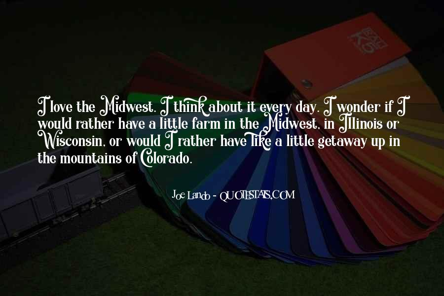 Quotes About The Midwest #487762