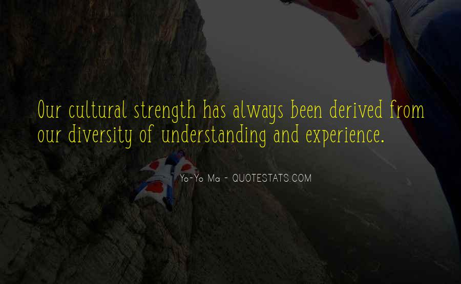 Quotes About Diversity And Strength #1197865