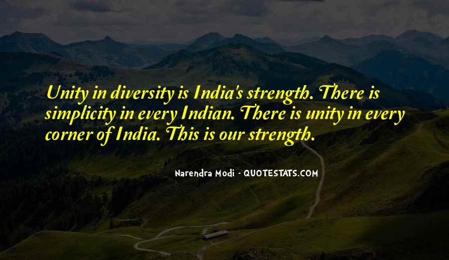 Quotes About Diversity And Strength #342945