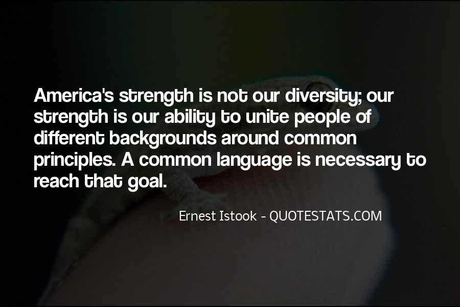 Quotes About Diversity And Strength #446222