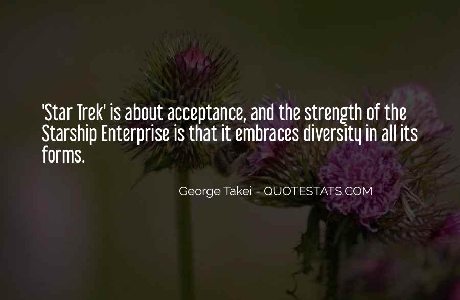 Quotes About Diversity And Strength #716514