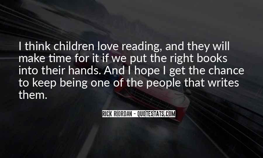 Quotes About The Love Of Reading Books #136046
