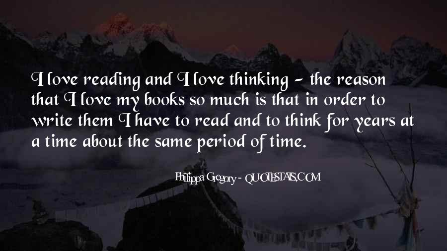 Quotes About The Love Of Reading Books #1496438