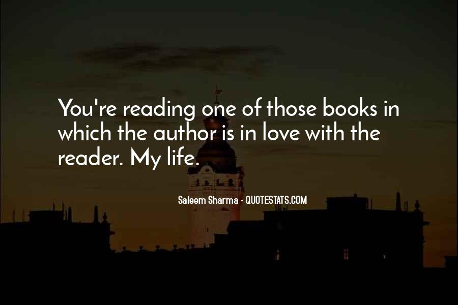 Quotes About The Love Of Reading Books #1832244