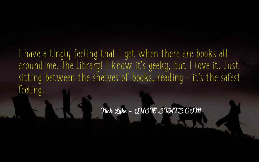 Quotes About The Love Of Reading Books #278767