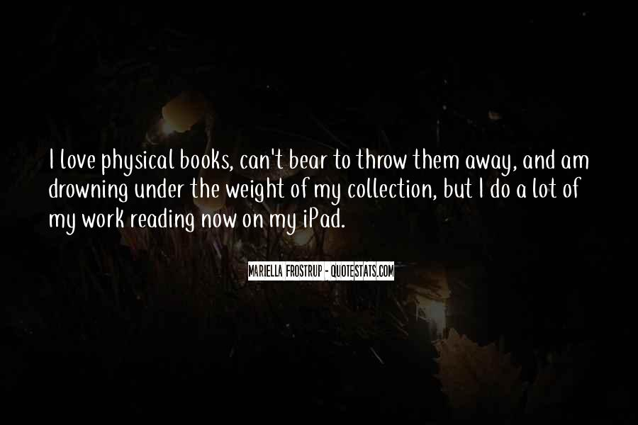 Quotes About The Love Of Reading Books #292846