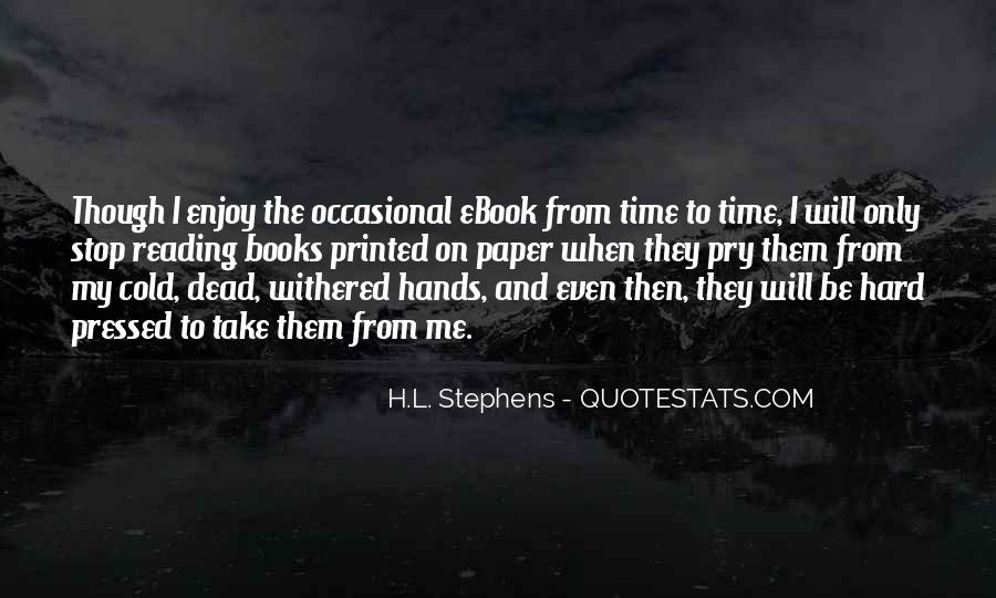 Quotes About The Love Of Reading Books #351062