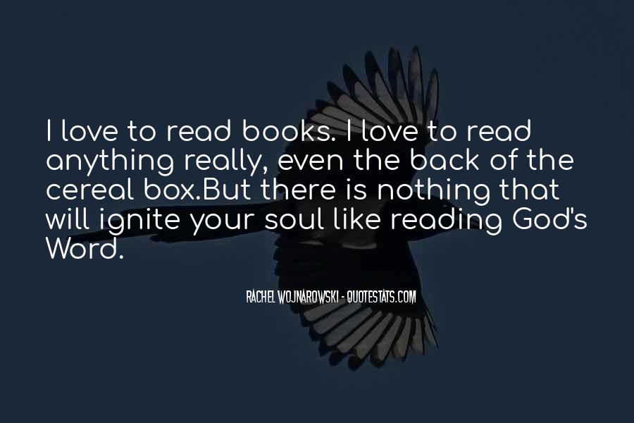 Quotes About The Love Of Reading Books #499072