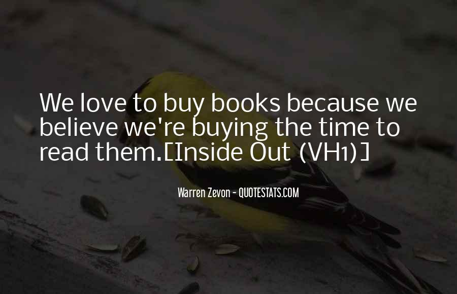 Quotes About The Love Of Reading Books #555800