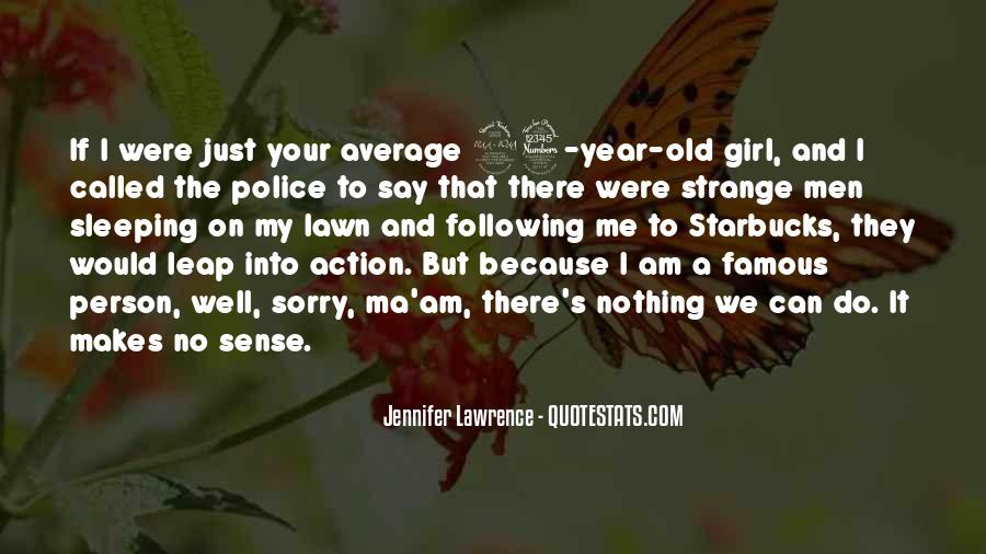 Quotes About Not Being Average Girl #1640310