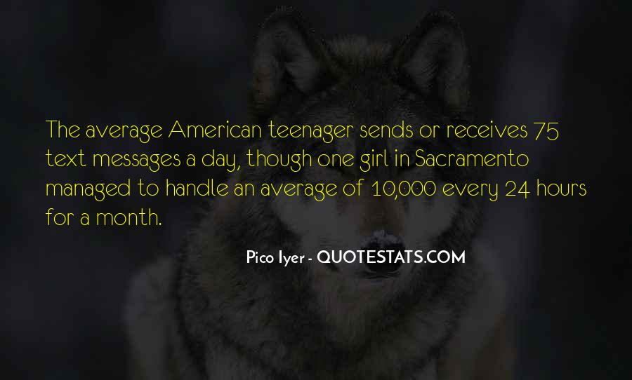 Quotes About Not Being Average Girl #242033