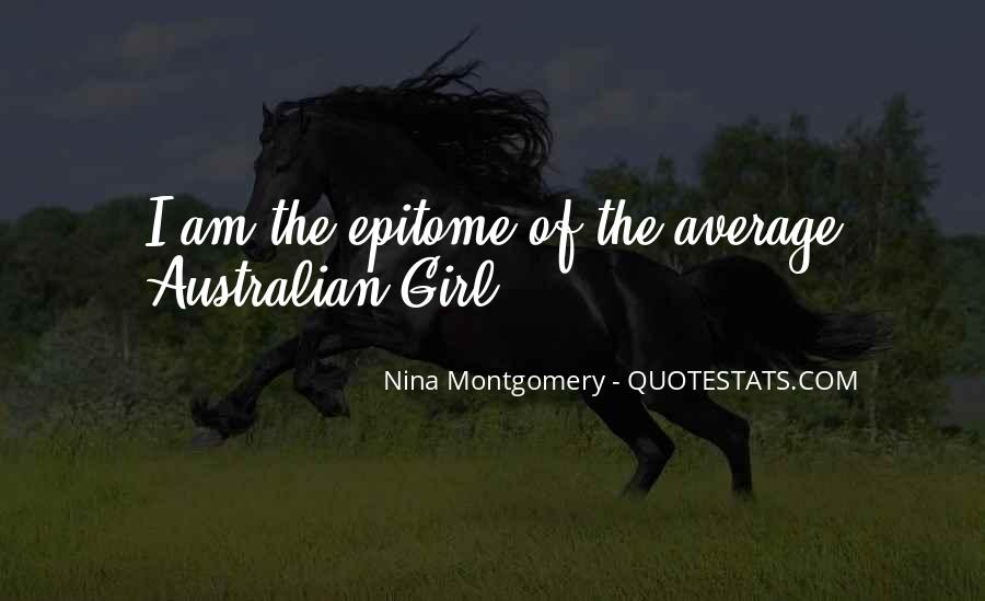 Quotes About Not Being Average Girl #915078