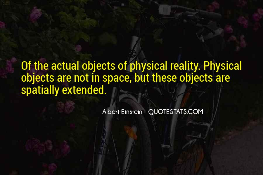 Quotes About Physical Space #1054724