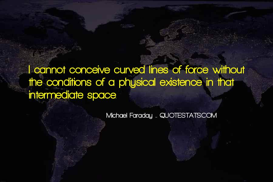 Quotes About Physical Space #1152778