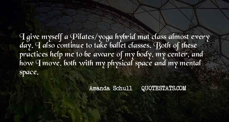 Quotes About Physical Space #1327589