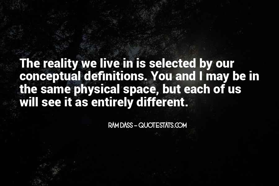 Quotes About Physical Space #1354317
