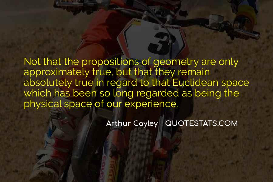 Quotes About Physical Space #1581370
