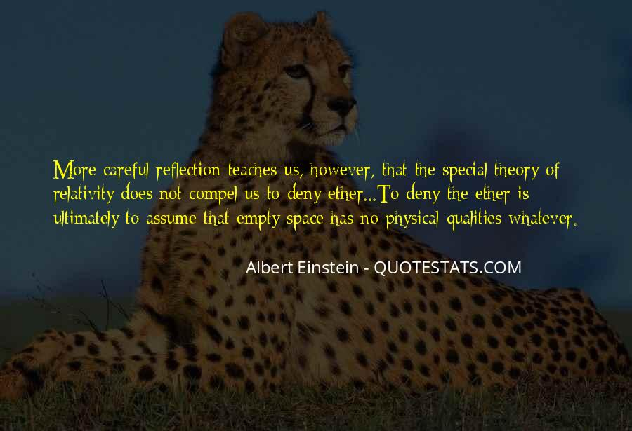 Quotes About Physical Space #1584294