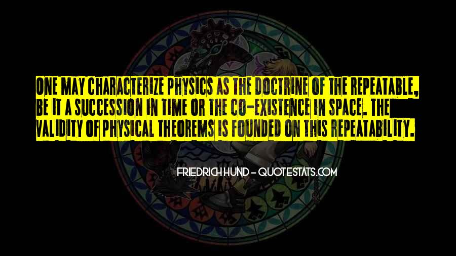 Quotes About Physical Space #1668604
