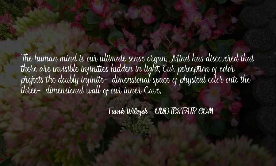 Quotes About Physical Space #1683575