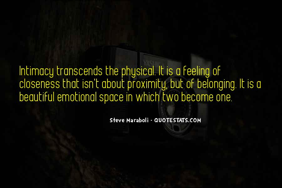 Quotes About Physical Space #207990