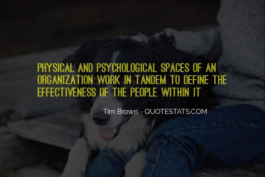 Quotes About Physical Space #227194